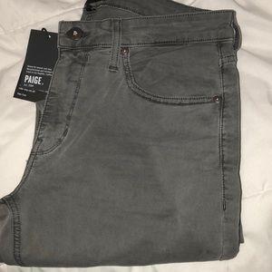 PAIGE Lennox light gray skinny jeans waist sz 31